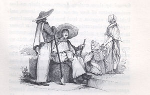 John Orrin Smith - Slavic peasants in Hungary, from John Paget, Hungary and Transylvania (1839), engraving by John Orrin Smith