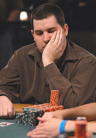 Scott Montgomery (poker player) - Montgomery at the 2008 World Series of Poker