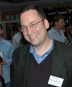 Scott Rosenberg (journalist) - Rosenberg at the Darknet book release party