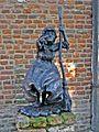 Sculpture 'De heks van 's-Heerenberg' by Patrick Beverloo, 's-Heerenberg, the Netherlands.jpg