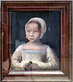 Scuola dei paesi bassi meridionali, ragazzina con uccellino morto, 1500-25 ca.JPG
