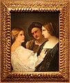Scuola veneziana, trio di detroit (la chiamata), 1580 o seguente, 01.jpg