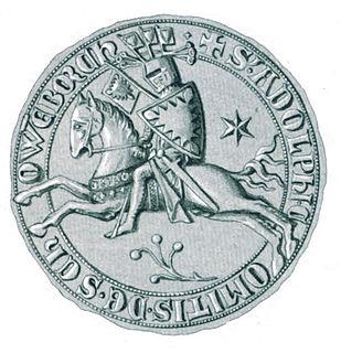 Adolph VI, Count of Holstein-Schauenburg Count of Holstein-Pinneberg and Schauenburg