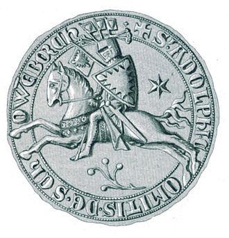 Adolph VI, Count of Holstein-Schauenburg - Seal of Adolph VI