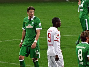 Sebastian Prödl - Prödl in his last season at Werder Bremen