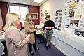 Secretary of State Karen Bradley MP visits Shankill Women's Centre (26647417768).jpg