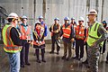 Secretary of the Interior Sally Jewell tours Folsom auxiliary spillway project (16486769595).jpg