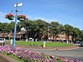 Sefton Road Roundabout and Hawthorne Court - geograph.org.uk - 1589769.jpg