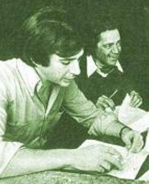 Sergio Renán - Sergio Renán (left)