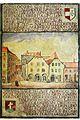Seitenstettengasse,Katzensteigtor anno 1699,Wien 1.Seitenstettengasse.jpg