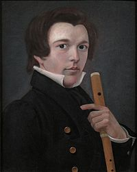 Self portrait with flute, by William Sidney Mount.jpg