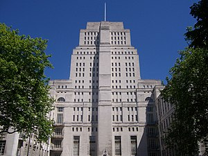 Institute of Historical Research - Senate House, home to the IHR since 1947