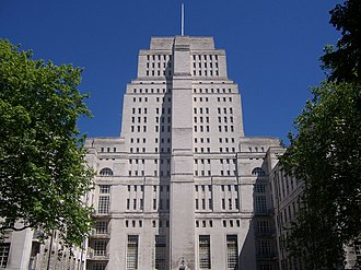 Ministries of Nineteen Eighty-Four - Senate House, London, where Orwell's wife worked at the Ministry of Information, was his model for the Ministry of Truth
