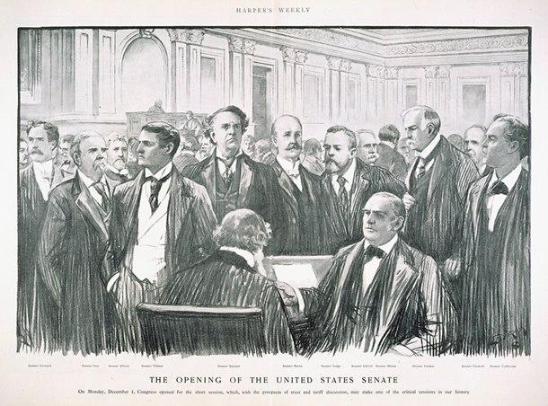 Senate opening 1902
