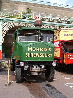 Steam wagon - Preserved 1931-built Sentinel DG4 'undertype' steam lorry