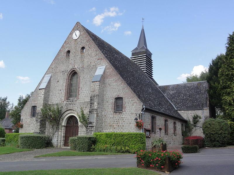 Seraucourt-le-Grand (Aisne) église Saint-Martin