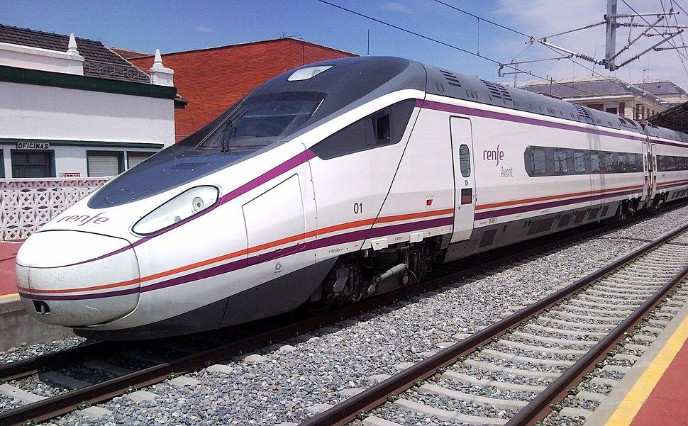 Serie 114 de Renfe en Valladolid-Campo Grande