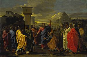 Seven Sacraments (Poussin) - Ordination from the second series