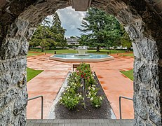 Seymour Square Fountain from Blenheim War Memorial, Blenheim, New Zealand.jpg
