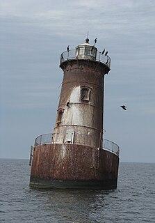 Sharps Island Light lighthouse in Maryland, United States