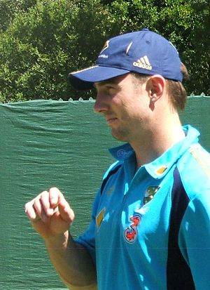 Shaun Marsh at a training session at the Adela...
