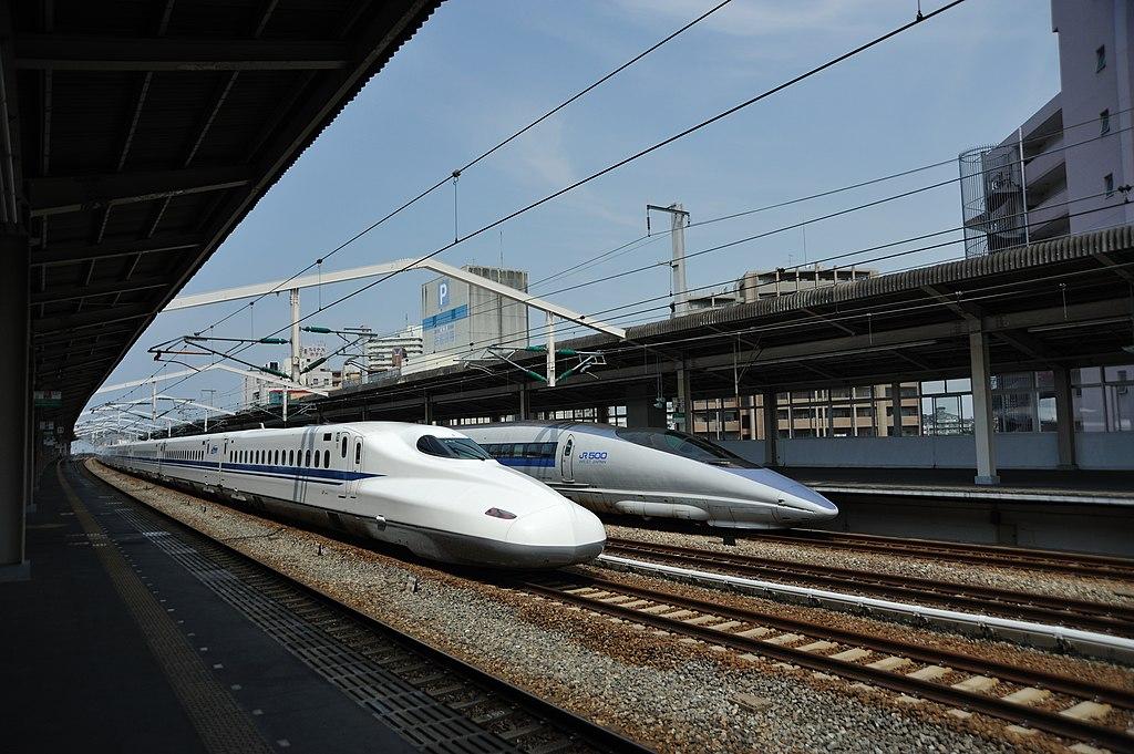 Shinkansen N700 & 500 (8086228483)