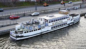 Ship on the Vltava in 2012.JPG
