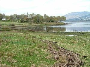 Blaich - Image: Shoreline on Loch Eil geograph.org.uk 410120