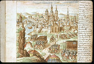 Siege of Rouen (1562) Siege in Rouen, France in 1562