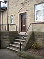 Side doorway to the Church Hall, Church Lane, Brighouse - geograph.org.uk - 157697.jpg