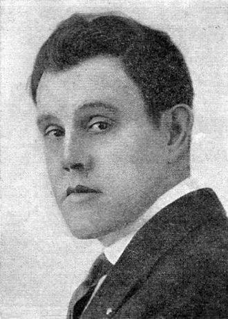 Sidney Toler - Sidney Toler in 1920