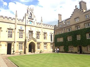 Chapel Court, Sidney Sussex College