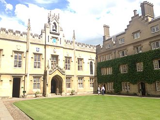 Sidney Sussex College, Cambridge - Chapel Court, Sidney Sussex College