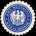 Siegelmarke Amt Westhofen - Kreis Hoerde W0234837.jpg