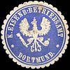 Siegelmarke Königliche Eisenbahn - Betriebsamt - Dortmund W0221015.jpg