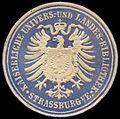 Siegelmarke Kaiserliche Universitäts- und Landes-Bibliothek Straßburg W0296742.jpg