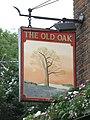 Sign for The Old Oak, Gordon House Road - Oak Village, NW5 - geograph.org.uk - 1534078.jpg