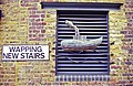 Sign for Wapping New Stairs - geograph.org.uk - 1201205.jpg