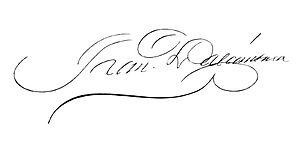 Francisco Linares Alcántara - Image: Signature of Francisco Linares Alcántara