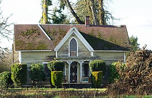 National Register of Historic Places listings in Washington County, Oregon - Image: Silas Jacob Beeks House 2 Forest Grove, Oregon