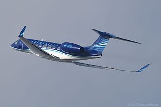 Gulfstream G650 - G650 on departure