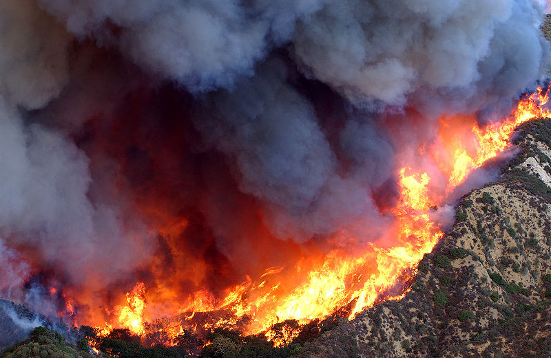 File:Simi Valley fire California USA.jpg