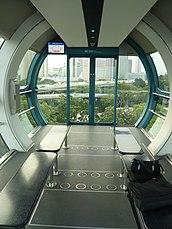 Singapur Flyer Kapsel innen.JPG