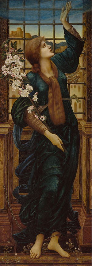 Hope (Burne-Jones) - Image: Sir Edward Coley Burne Jones Hope Google Art Project