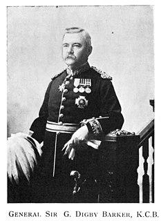 George Digby Barker British Army general