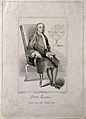 Sir Isaac Newton. Line engraving by J. Romney, 1817, after G Wellcome V0004270.jpg