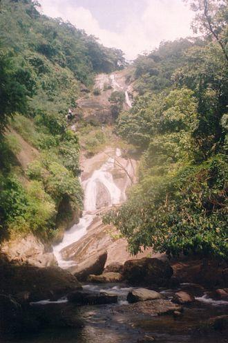 Siruvani Waterfalls - Upper cascades of the Siruvani Waterfalls