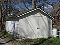 Sixth Street West 821, Parks House outbuilding, Bloomington West Side HD.jpg
