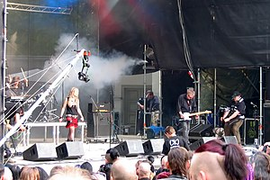 Skeletal Family - The band performing in 2005