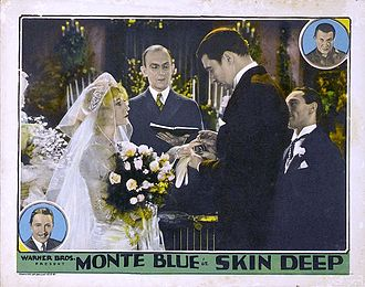 Skin Deep (1929 film) - Lobby card